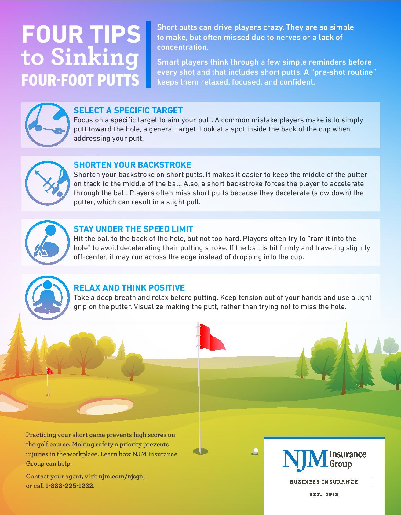Four Tips to Sinking Four-Foot Putts