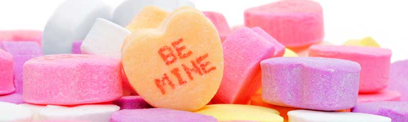 The History of Valentine's Day Candy